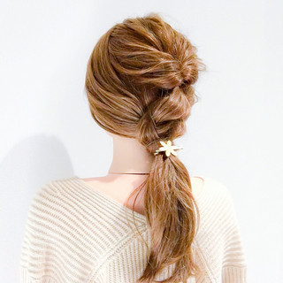 エレガント ショート オフィス ロング ヘアスタイルや髪型の写真・画像