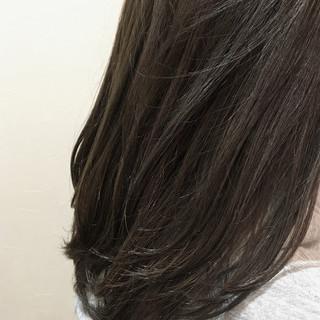 外国人風カラー アッシュ 簡単 イルミナカラー ヘアスタイルや髪型の写真・画像