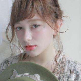 梅雨 アンニュイ ナチュラル ヘアアレンジ ヘアスタイルや髪型の写真・画像