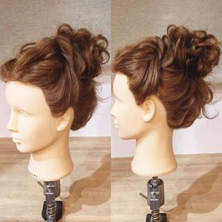 アップスタイル 上品 ヘアアレンジ ロング ヘアスタイルや髪型の写真・画像