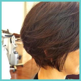 ショート エレガント 上品 ヘアスタイルや髪型の写真・画像 ヘアスタイルや髪型の写真・画像