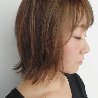透明感カラー ルーズ 透け感ヘア 切りっぱなし ヘアスタイルや髪型の写真・画像