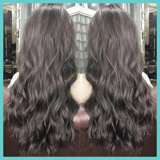 デート オフィス ヘアアレンジ ウェーブ ヘアスタイルや髪型の写真・画像