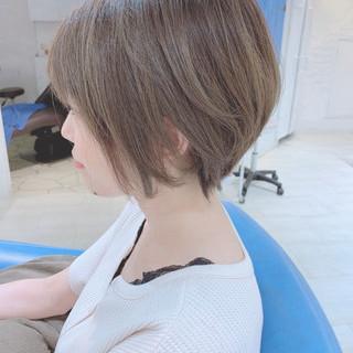 透明感 3Dハイライト 透明感カラー ナチュラル ヘアスタイルや髪型の写真・画像