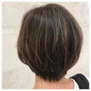 アンニュイ こなれ感 ハイライト ナチュラル ヘアスタイルや髪型の写真・画像