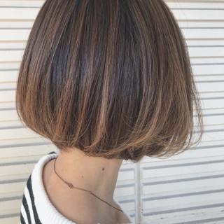 ボブ ショート 上品 エレガント ヘアスタイルや髪型の写真・画像 ヘアスタイルや髪型の写真・画像