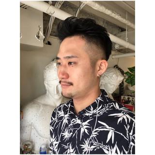 メンズ ボーイッシュ ショート 刈り上げ ヘアスタイルや髪型の写真・画像