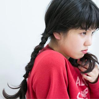 ヘアアレンジ ガーリー ロング 簡単ヘアアレンジ ヘアスタイルや髪型の写真・画像