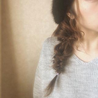 フィッシュボーン ヘアアレンジ 大人女子 くるりんぱ ヘアスタイルや髪型の写真・画像 ヘアスタイルや髪型の写真・画像