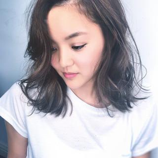 デート ナチュラル パーマ 女子会 ヘアスタイルや髪型の写真・画像