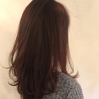 ミルクティー こなれ感 ニュアンス ロング ヘアスタイルや髪型の写真・画像