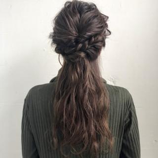 デート 抜け感 ロング ナチュラル ヘアスタイルや髪型の写真・画像