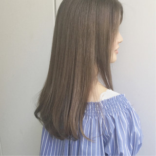 大人かわいい フェミニン 外国人風 ロング ヘアスタイルや髪型の写真・画像