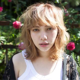 ハイライト ストリート パーマ 外国人風 ヘアスタイルや髪型の写真・画像