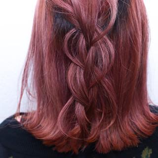 ダブルカラー ストリート グラデーションカラー ボブ ヘアスタイルや髪型の写真・画像