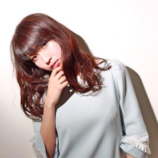 透明感 外国人風カラー セミロング リラックス ヘアスタイルや髪型の写真・画像
