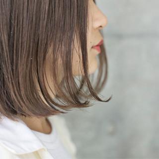 大人かわいい 外国人風カラー 色気 ボブ ヘアスタイルや髪型の写真・画像