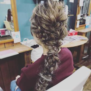 デート フェミニン ロング ヘアアレンジ ヘアスタイルや髪型の写真・画像 ヘアスタイルや髪型の写真・画像