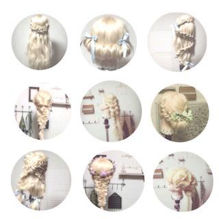 ヘアアレンジ フェミニン ゆるふわ 外国人風 ヘアスタイルや髪型の写真・画像 ヘアスタイルや髪型の写真・画像