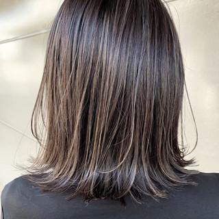 ショートボブ ウルフカット ミディアム ナチュラル ヘアスタイルや髪型の写真・画像
