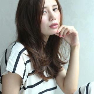 ショート 簡単ヘアアレンジ セミロング フェミニン ヘアスタイルや髪型の写真・画像