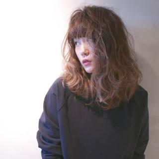 外国人風 ロング アッシュ ストリート ヘアスタイルや髪型の写真・画像