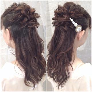 大人女子 ロング ゆるふわ フェミニン ヘアスタイルや髪型の写真・画像