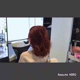 フェミニン デート ルーズ 簡単ヘアアレンジ ヘアスタイルや髪型の写真・画像