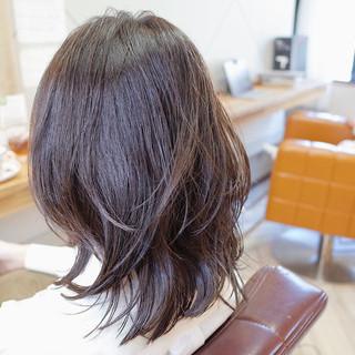 ナチュラル レイヤースタイル ベージュ モテ髪 ヘアスタイルや髪型の写真・画像