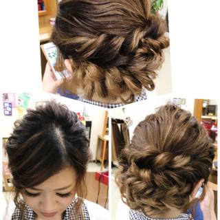 色気 ヘアアレンジ 結婚式 女子会 ヘアスタイルや髪型の写真・画像