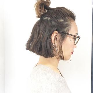 ナチュラル 簡単ヘアアレンジ アウトドア パーマ ヘアスタイルや髪型の写真・画像 ヘアスタイルや髪型の写真・画像