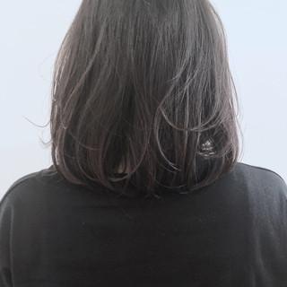 アッシュ 前髪あり 透明感 ボブ ヘアスタイルや髪型の写真・画像