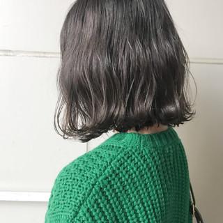 ボブ ミディアム ナチュラル セルフヘアアレンジ ヘアスタイルや髪型の写真・画像 ヘアスタイルや髪型の写真・画像