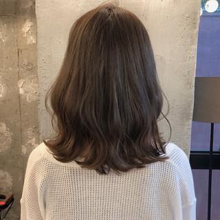 ミディアム ヘアアレンジ 女子力 ナチュラル ヘアスタイルや髪型の写真・画像