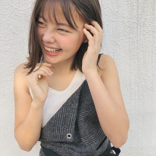 ミディアム スポーツ 女子力 ガーリー ヘアスタイルや髪型の写真・画像