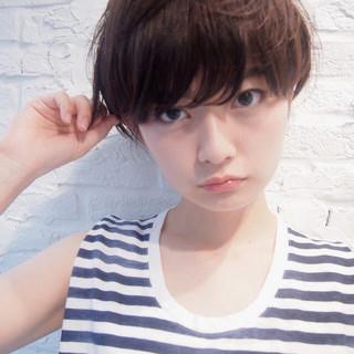 ナチュラル 大人かわいい 前髪あり 外国人風 ヘアスタイルや髪型の写真・画像