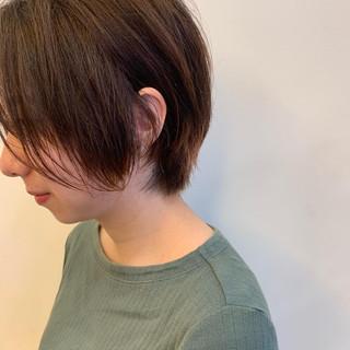 ハイトーンカラー ヘアカラー ショート グラデーションカラー ヘアスタイルや髪型の写真・画像