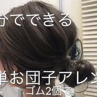 オフィス ヘアアレンジ ロング 外国人風 ヘアスタイルや髪型の写真・画像