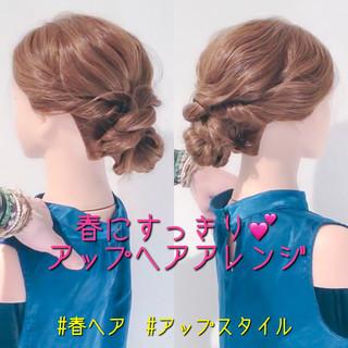 デート アップスタイル ヘアアレンジ ロング ヘアスタイルや髪型の写真・画像 ヘアスタイルや髪型の写真・画像