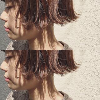 ガーリー 前髪あり 外国人風 フリンジバング ヘアスタイルや髪型の写真・画像