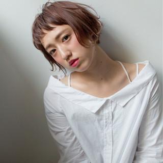 フェミニン ストリート 前髪あり 冬 ヘアスタイルや髪型の写真・画像
