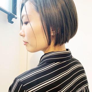 ストリート グレーアッシュ ミント ナチュラルグラデーション ヘアスタイルや髪型の写真・画像