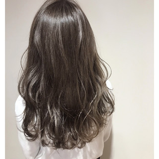 ハイトーン 外国人風 透明感 ナチュラル ヘアスタイルや髪型の写真・画像