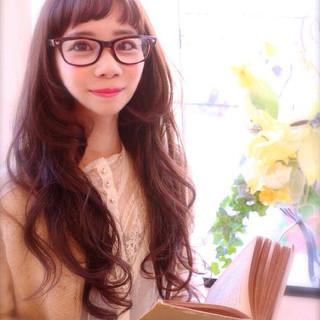 アッシュ ゆるふわ こなれ感 フェミニン ヘアスタイルや髪型の写真・画像