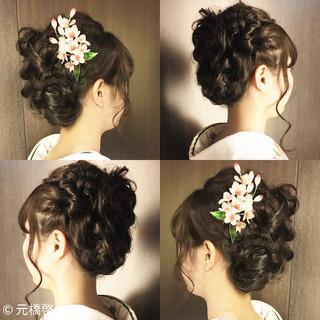 こなれ感 簡単ヘアアレンジ フェミニン 小顔 ヘアスタイルや髪型の写真・画像