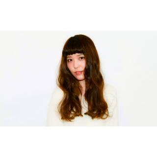 コンサバ 卵型 ゆるふわ ロング ヘアスタイルや髪型の写真・画像