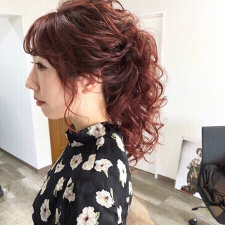 大人かわいい 結婚式 ロング 女子力 ヘアスタイルや髪型の写真・画像