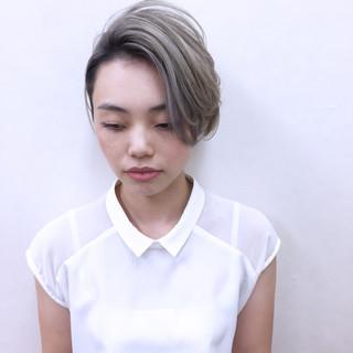 ボブ 外国人風 ショート モード ヘアスタイルや髪型の写真・画像