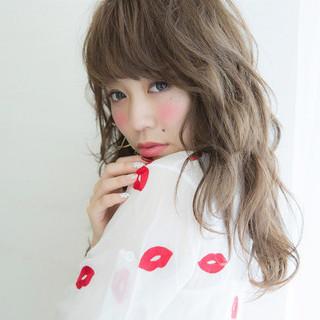 ピュア 透明感 ガーリー 簡単ヘアアレンジ ヘアスタイルや髪型の写真・画像