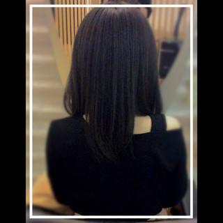 艶髪 ナチュラル ロング 大人ヘアスタイル ヘアスタイルや髪型の写真・画像